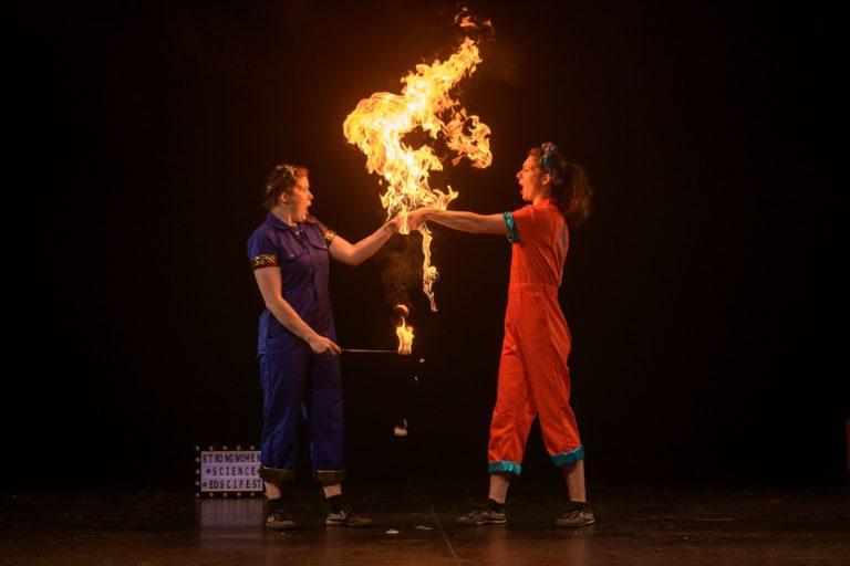 Elements of #EdSciFest: Edinburgh Science Festival 2020