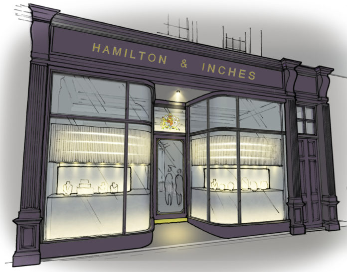 Iconic Jewellers, Hamilton & Inches, Invest In Scottish High Street's Future