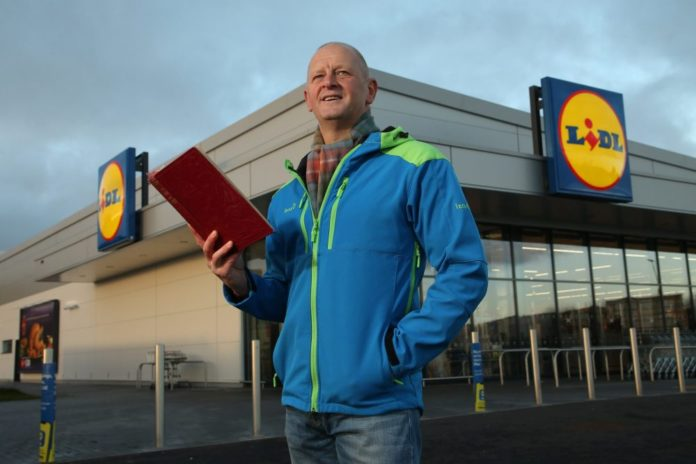 Poet Gary Robertson Partners With Lidl To Champion Region's Love Of Poetry