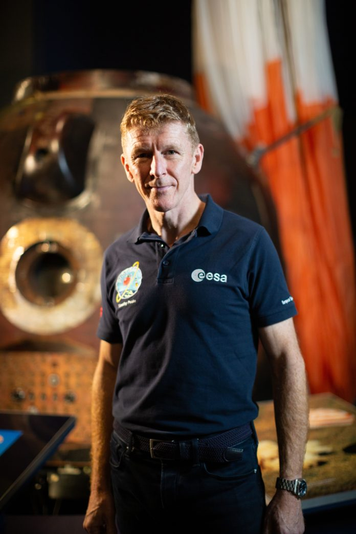 Astronaut Tim Peake encourages people to share how his mission inspired them