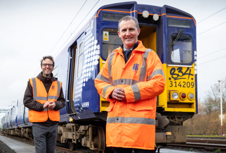 First Scottish Hydrogen-Powered Train To Be Delivered By November 2021