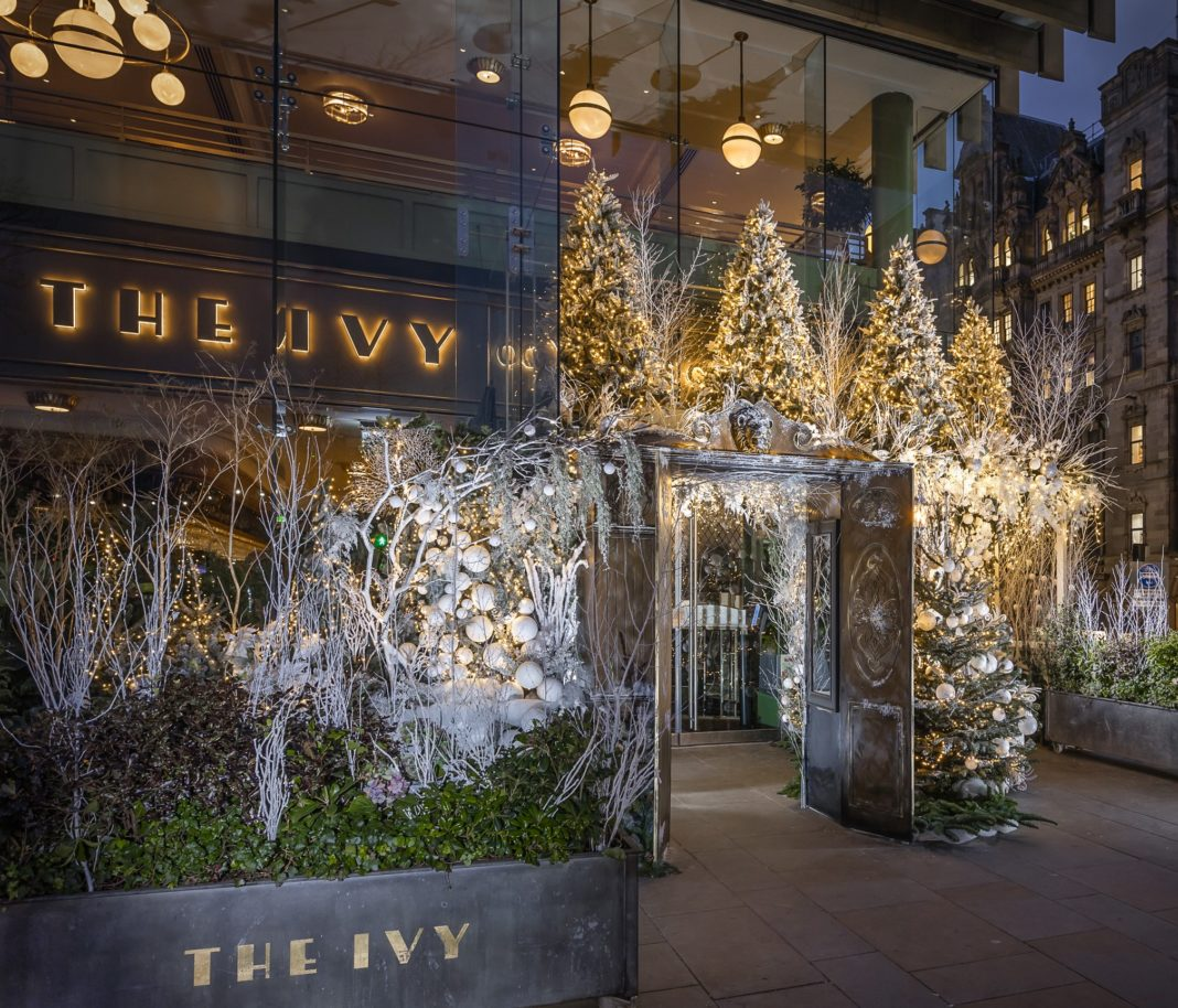 The Ivy On The Square Turns Into Narnia-Inspired Winter Wonderland