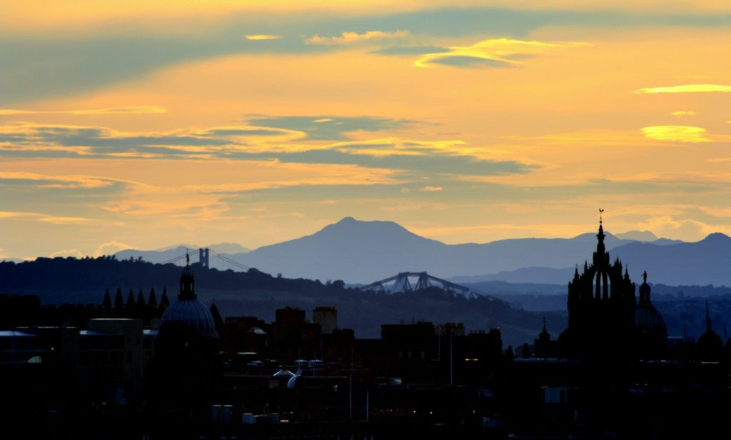 Edinburgh, Scotland, Sunset by David McEachan from Pexels