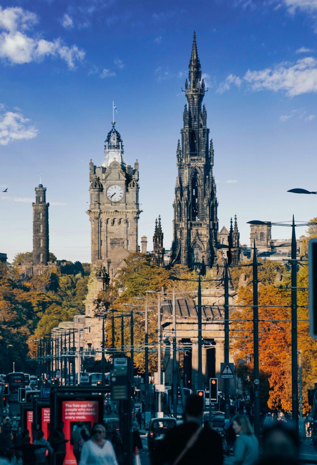 Edinburgh Princes Street - Photo by Vijit Bagh from Pexels
