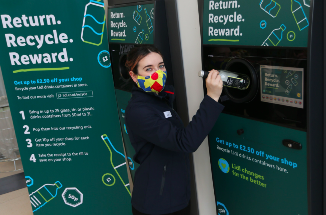 Lidl Launches Landmark Deposit Return Scheme Trial