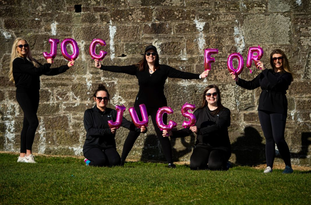 Raising Awareness For Breast Cancer Through Nationwide 'Jog for Jugs' Campaign