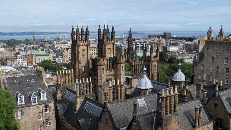 Edinburgh after lockdown