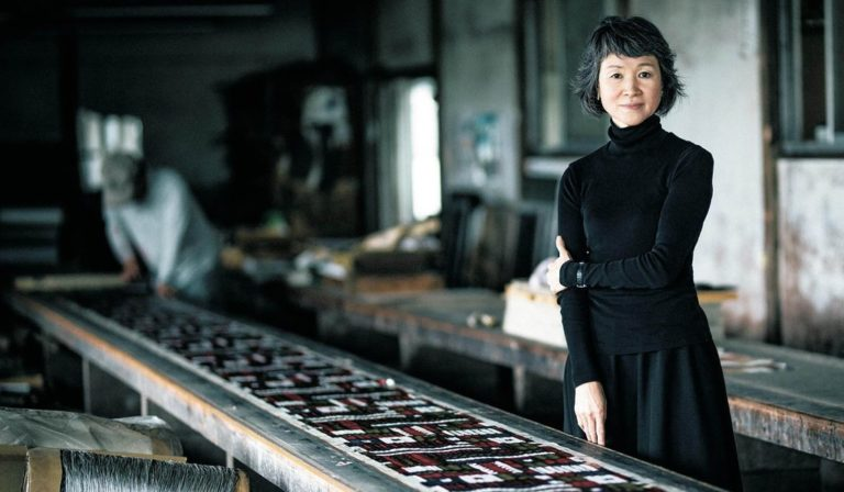 Japan's most celebrated textiles company comes to Scotland!